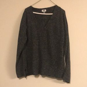 Old Navy marbled v-neck sweater